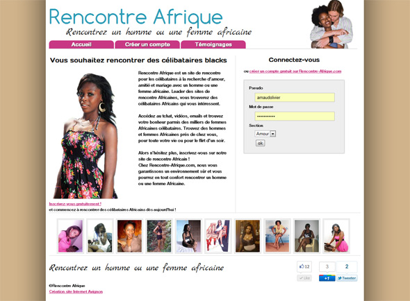 Site de rencontre black usa