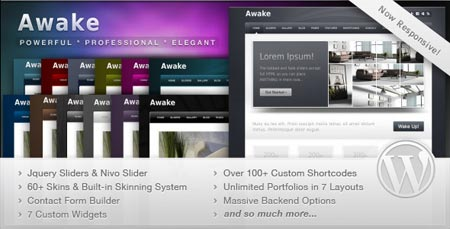 responsive template wordpress