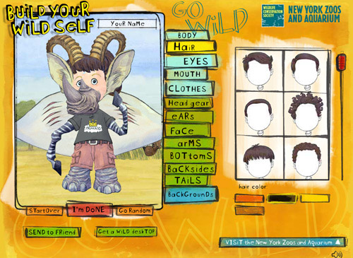 créer un avatar