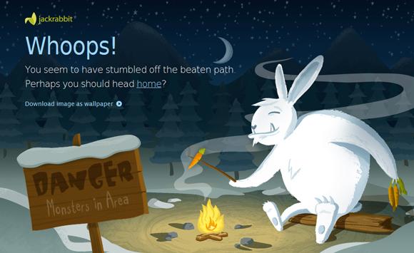 page erreur 404
