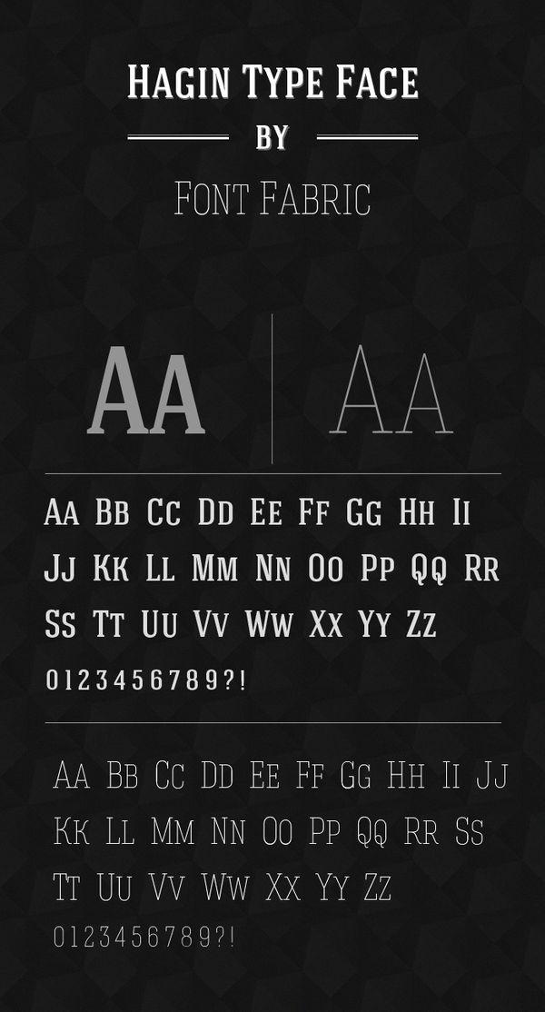 les meilleurs typographies