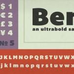 14 typographies tendances