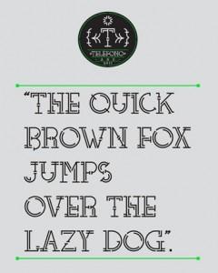 inspiration typographie