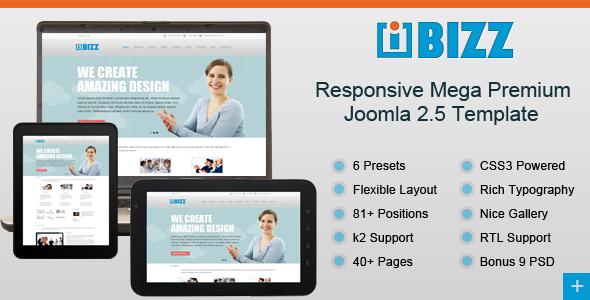 theme site internet pour joomla