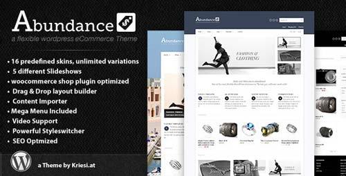 template wordpress e-commerce