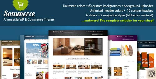 template wordpress ecommerce