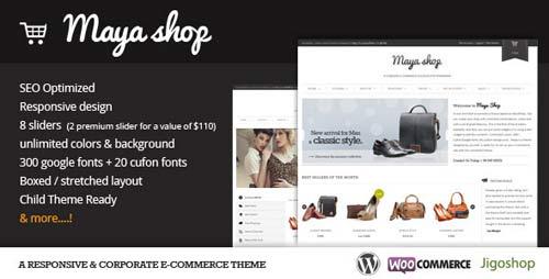 thème wordpress ecommerce