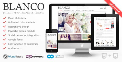 wordpress template ecommerce