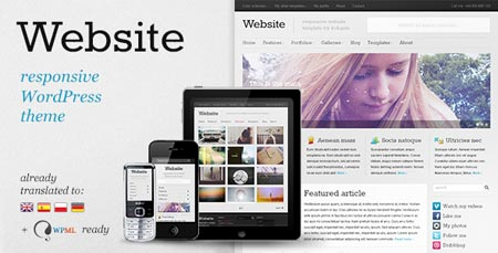 wordpress template magazine