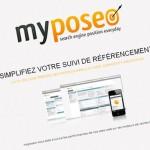 MyPoseo, outils de suivi de positionnement