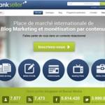 Monétisation de site avec RankSeller