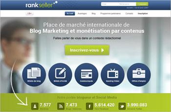 monétisation de blog rankseller