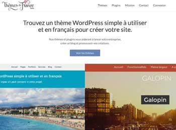 themes de france wordpress